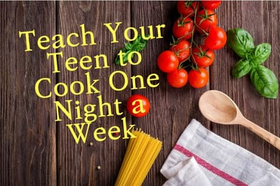 teach your teen to cook