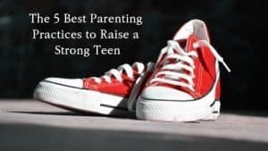Teen's Red Converse