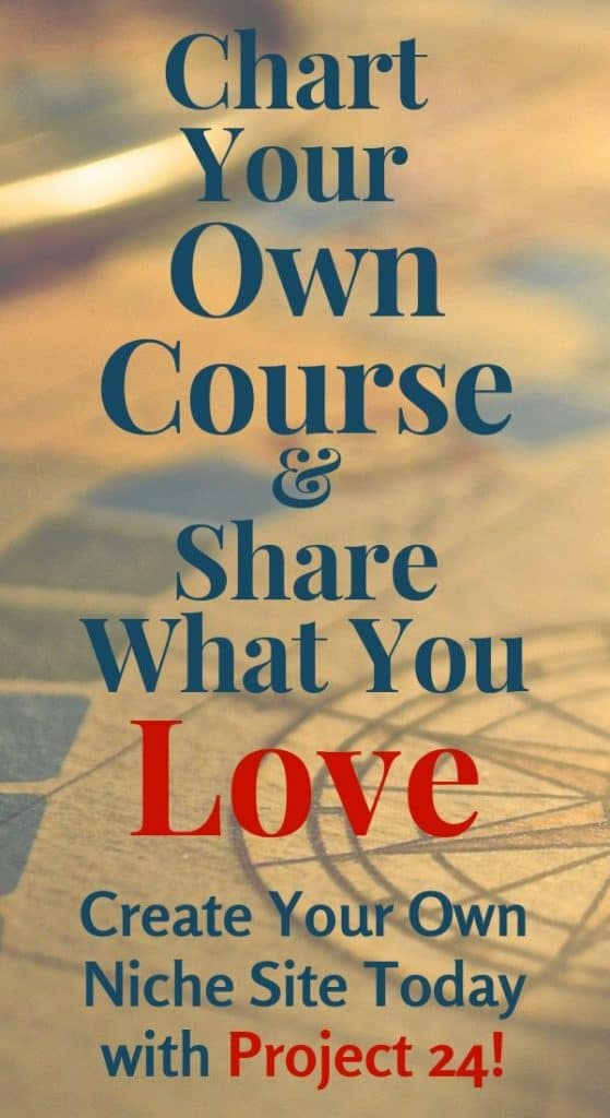 Share what you love with Project 24