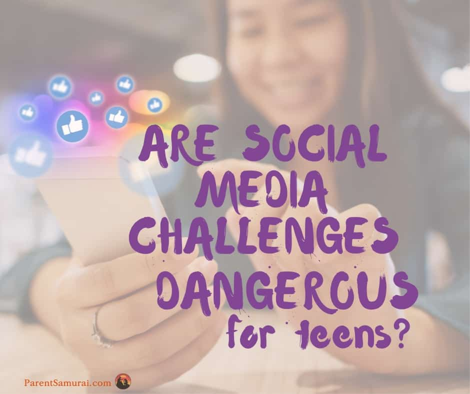 Are Social Media Challenges Dangerous for Teens?