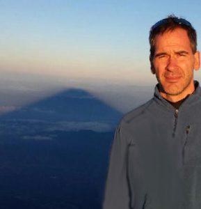 Samurai Dad at Mt Fuji